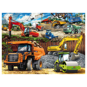 Construction Vehicle 100 pc XXL Jigsaw Puzzle from Ravensburger