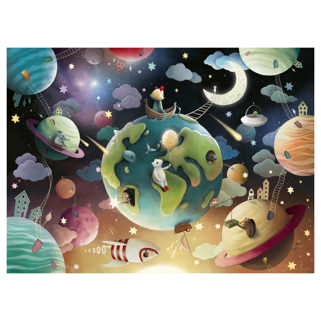 Planet Playground 100 pc XXL Jigsaw Puzzle from Ravensburger