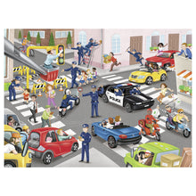 Load image into Gallery viewer, Police on Patrol 100pc XXL Jigsaw Puzzle from Ravensburger
