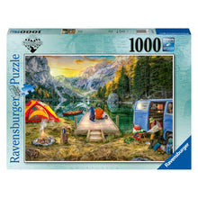Load image into Gallery viewer, Calm Campsite - 1000 pc Jigsaw