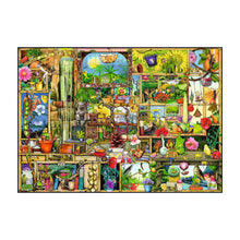 Load image into Gallery viewer, The Gardener's Cupboard - Curious Cupboards - 1000 pc Ravensburger Jigsaw Puzzle