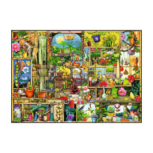 The Gardener's Cupboard - Curious Cupboards - 1000 pc Ravensburger Jigsaw Puzzle