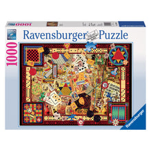 Load image into Gallery viewer, Vintage Games - 1000 pc Ravensburger Jigsaw