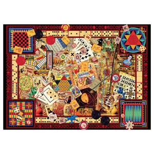 Vintage Games - 1000 pc Ravensburger Jigsaw