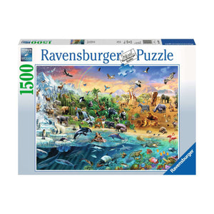 Our Wide World - 1500pc Ravensburger Jigsaw Puzzle