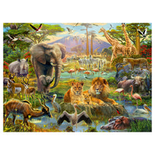 Load image into Gallery viewer, Animals of the Savannah 200 pc XXL Jigsaw Puzzle from Ravensburger