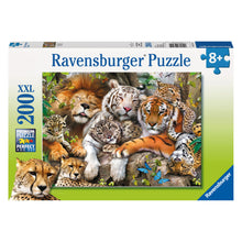 Load image into Gallery viewer, Big Cat Nap 200 pc XXL Jigsaw Puzzle from Ravensburger