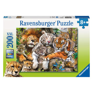 Big Cat Nap 200 pc XXL Jigsaw Puzzle from Ravensburger