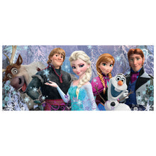 Load image into Gallery viewer, Disney's Frozen Friends 200 pc XXL Panorama Jigsaw Puzzle from Ravensburger