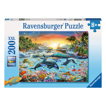 Load image into Gallery viewer, Orca Paradise 200 pc XXL Jigsaw Puzzle from Ravensburger