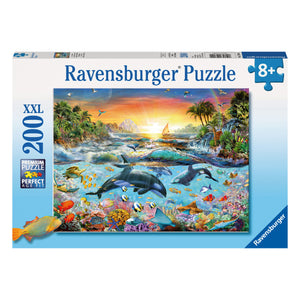 Orca Paradise 200 pc XXL Jigsaw Puzzle from Ravensburger