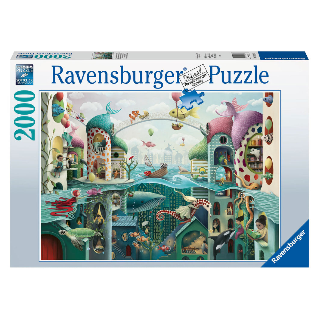 If Fish Could Walk - 2000 pc Ravensburger Puzzle