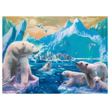 Load image into Gallery viewer, Polar Bear Kingdom 300 pc Jigsaw Puzzle from Ravensburger