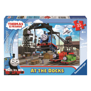 Thomas & Friends at the Docks 35pc Jigsaw Puzzle from Ravensburger