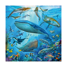 Load image into Gallery viewer, Ocean Life 3 x 49pc Jigsaw Puzzles from Ravensburger