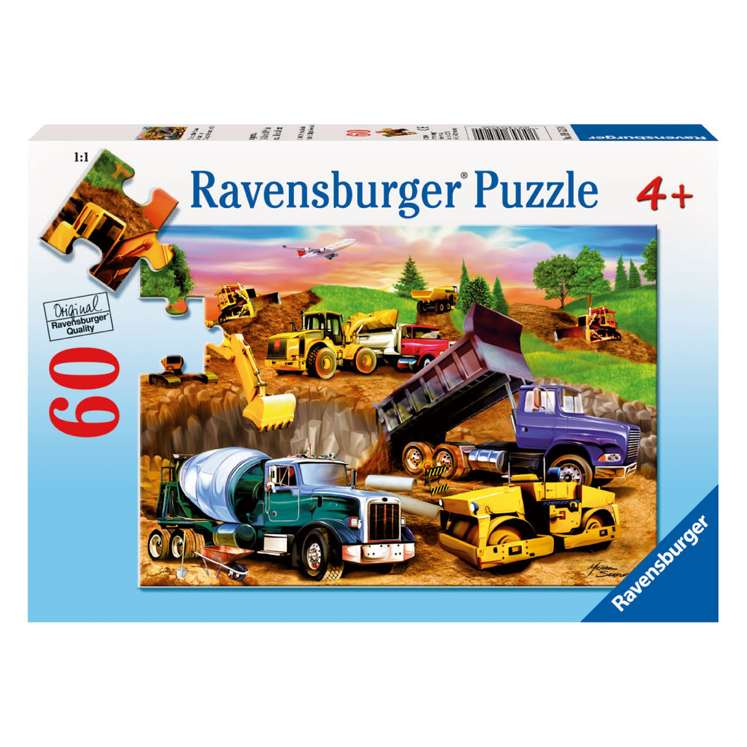 Ravensburger Construction Crowd 60pc Jigsaw Puzzle