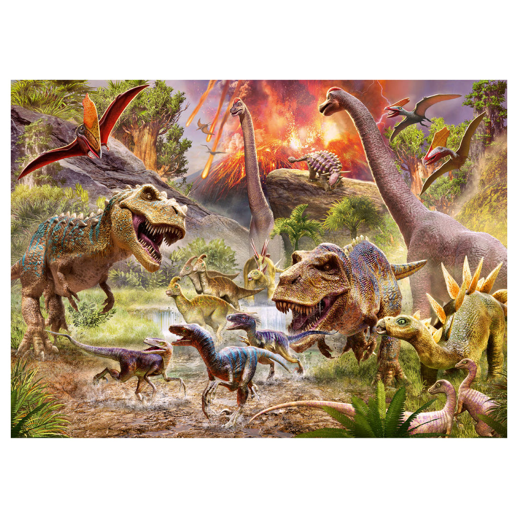 Dinosaur Dash 60pc Jigsaw Puzzle from Ravensburger