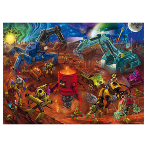 Space Construction 60pc Jigsaw Puzzle from Ravensburger