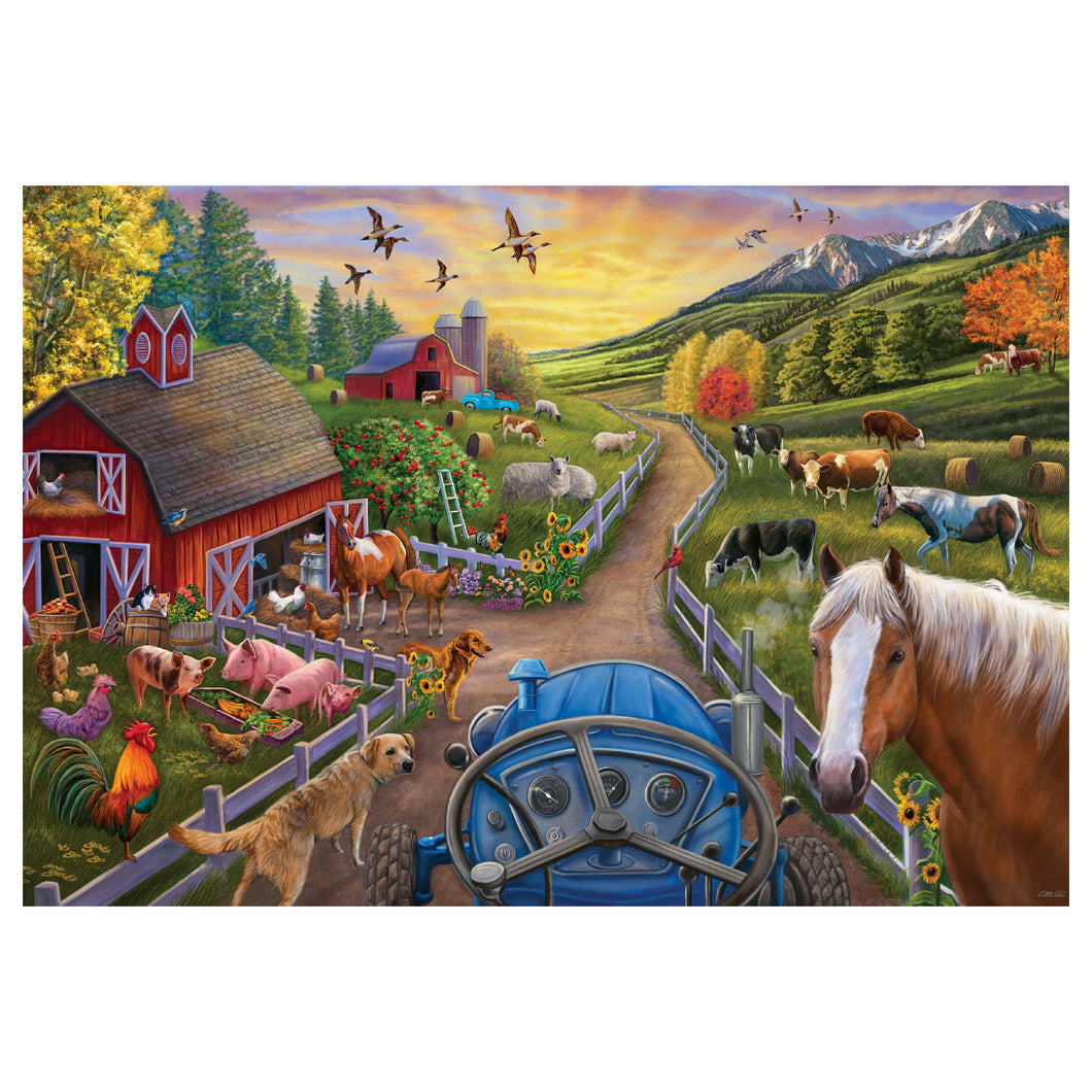 My First Farm 24 pc Floor Puzzle from Ravensburger