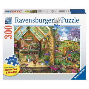 Gardener's Getaway - 300 pc Larger Pieces Jigsaw
