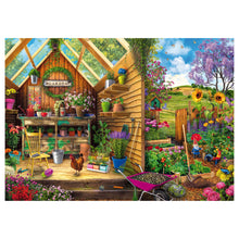 Load image into Gallery viewer, Gardener's Getaway - 300 pc Larger Pieces Jigsaw