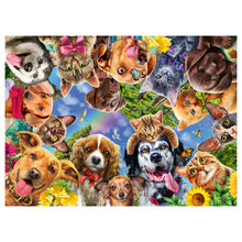 Load image into Gallery viewer, Animal Selfie - 500 pc Larger Pieces Jigsaw
