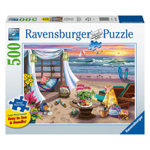 Load image into Gallery viewer, Cabana Retreat - 500 pc Larger Pieces Jigsaw