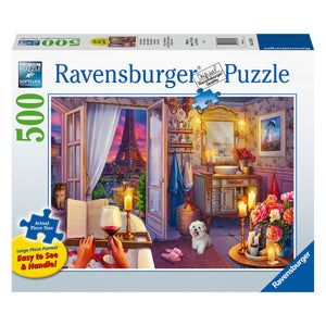 Cozy Bathroom - 500 pc Larger Pieces Jigsaw