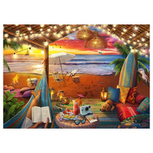 Load image into Gallery viewer, Cozy Cabana - 500 pc Larger Pieces Jigsaw