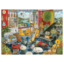 Load image into Gallery viewer, The Music Room - 500 pc Larger Pieces Jigsaw