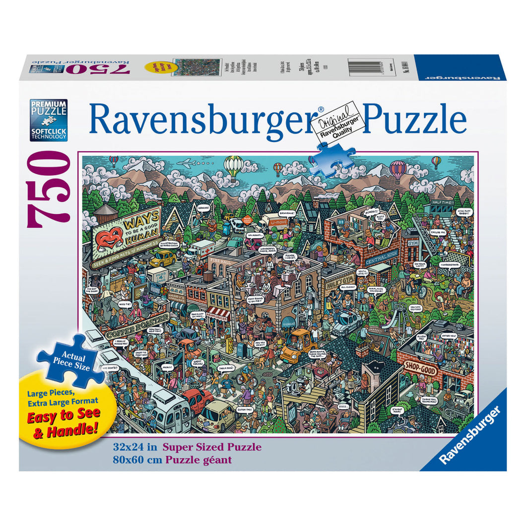 Acts of Kindness - 750 pc Larger Pieces Jigsaw