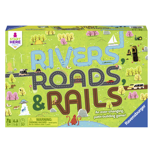 Rivers, Roads, & Rails from Ravensburger