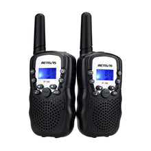 Load image into Gallery viewer, Retevis Kid's Walkie Talkies with Flashlight in Black