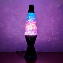 "Load image into Gallery viewer, Colormax Glitter 14.5"" Lava Lamps"