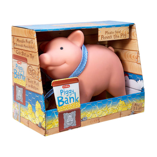 Rubber Piggy Bank from Schylling