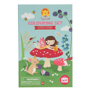 Tiger Tribe Forest Fairies Coloring Set