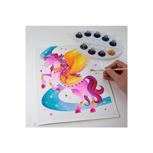 Aquarellum - Unicorns & Pegasus