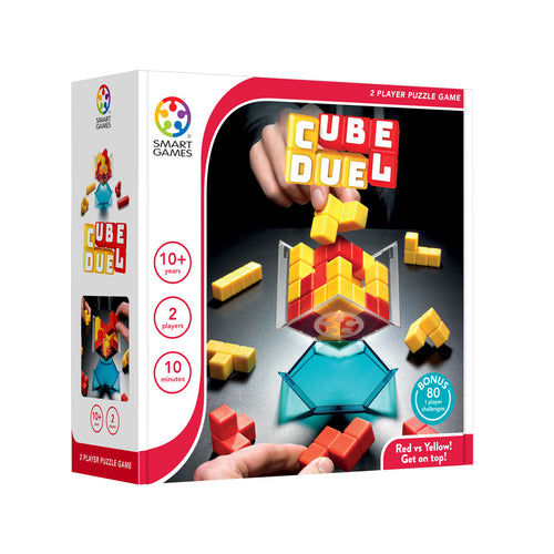 Cube Duel 2-Player Puzzle Game from Smart Games