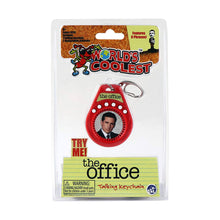 Load image into Gallery viewer, World's Coolest The Office Talking Keychain
