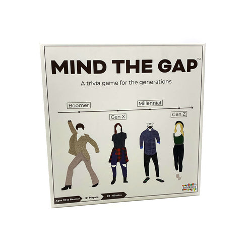 Mind the Gap Trivia Game from Solid Roots Item # TG00046