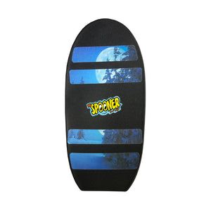 Freestyle Spooner Board - Black with Scenery Grip Tape