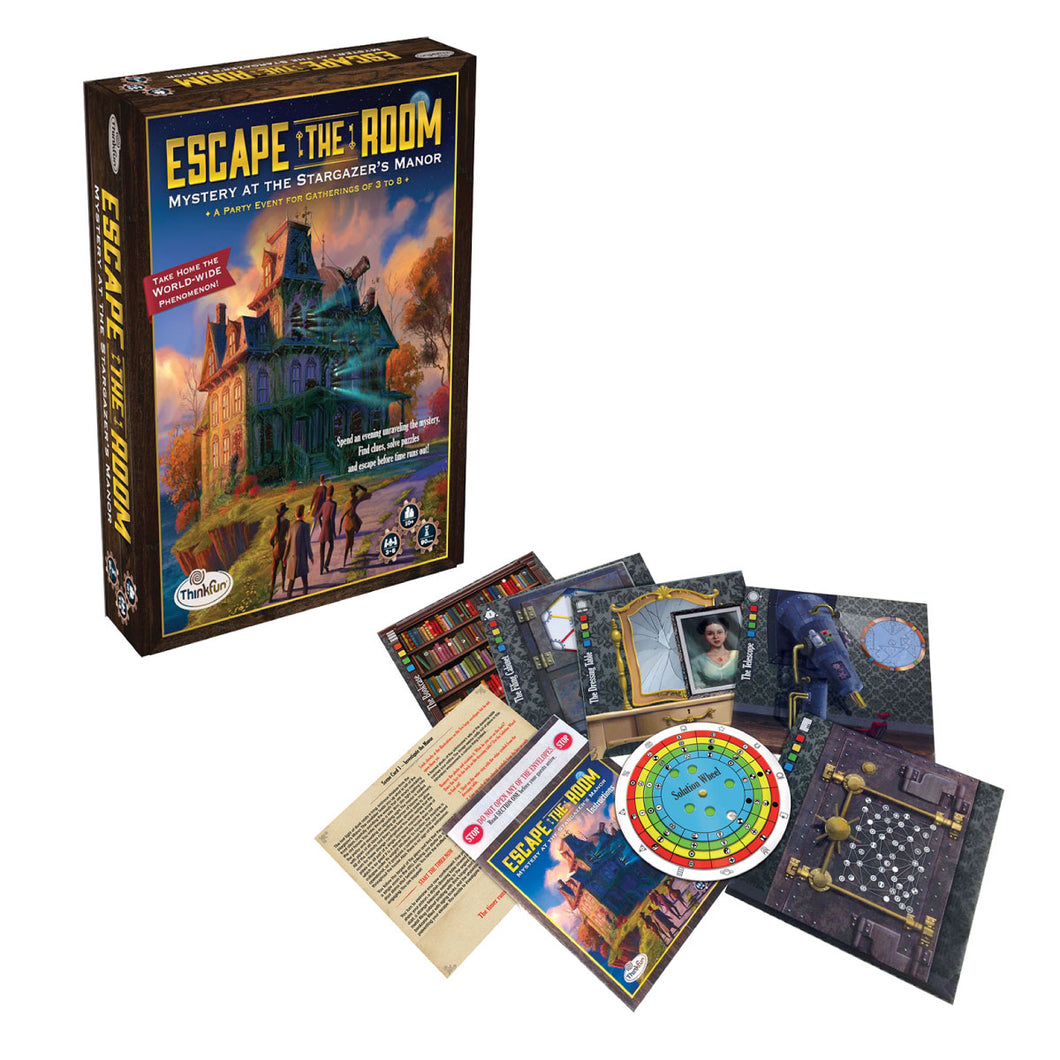 Escape the Room: Mystery at Stargazer's Manor from ThinkFun
