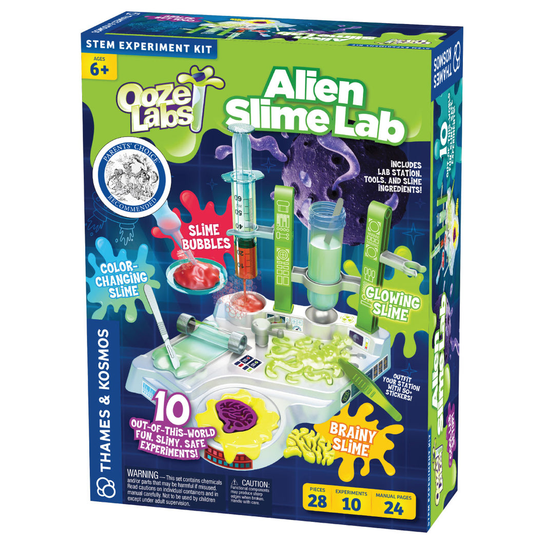 Ooze Labs Alien Slime Lab from Thames & Kosmos