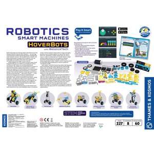 Robotics: Smart Machines - Hoverbots from Thames & Kosmos