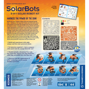 SolarBots 8 in 1 Solar Robot Kit from Thames & Kosmos