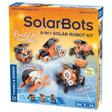 Load image into Gallery viewer, SolarBots 8 in 1 Solar Robot Kit from Thames & Kosmos