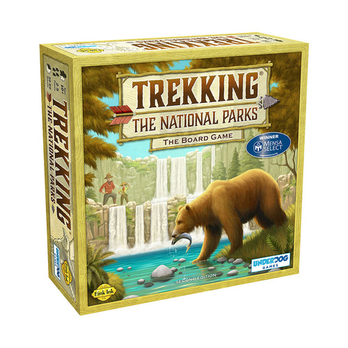 Trekking the National Parks Board Game from Underdog Games