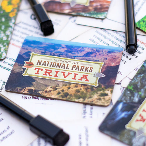 Trekking the National Parks Trivia from Underdog Games