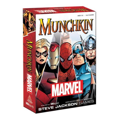 Munchkin: Marvel Edition from USAOpoly