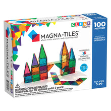 Load image into Gallery viewer, Magna-Tiles 100 Piece Clear Colors from Valtech